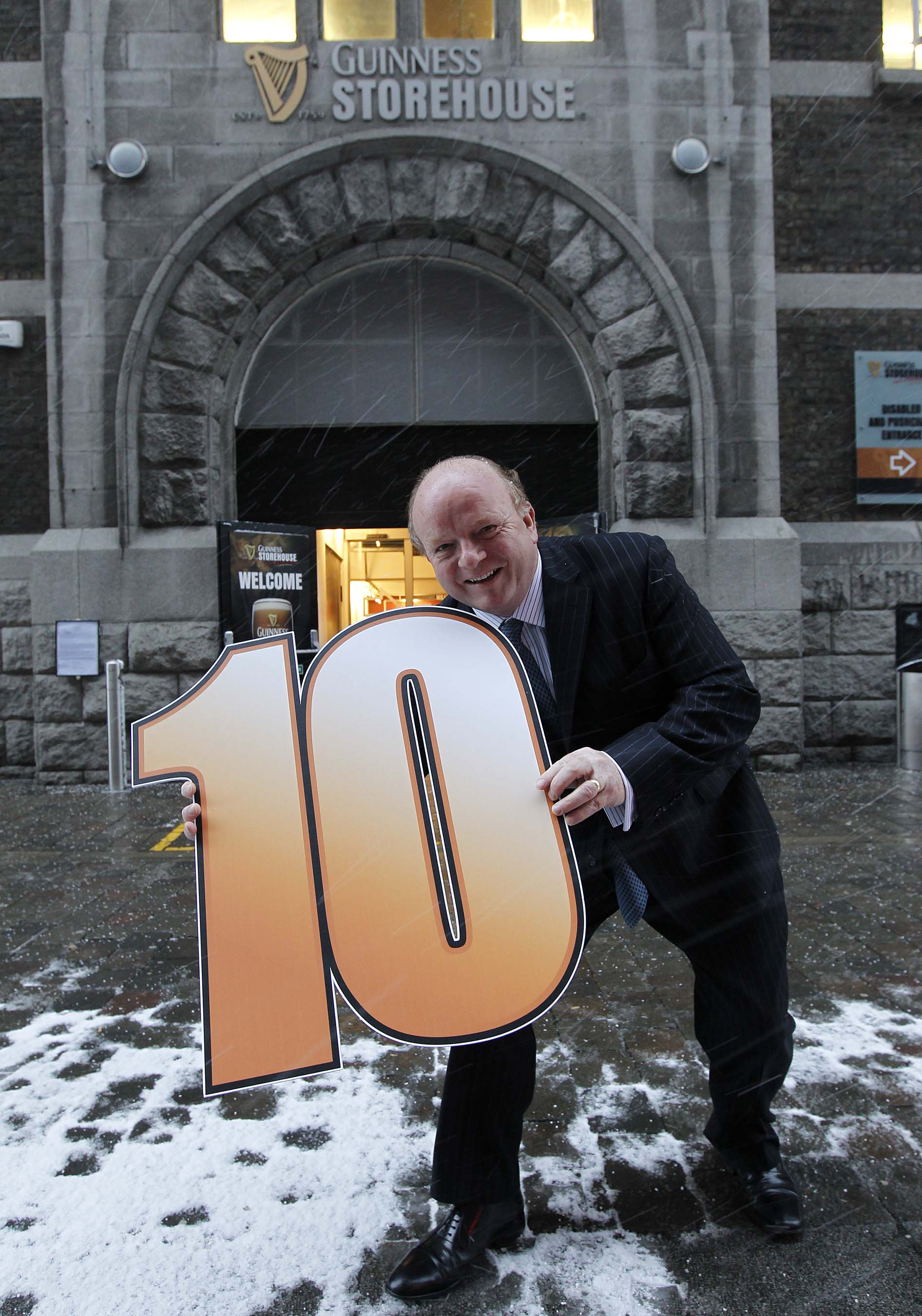 10º Aniversario de Guinness Storehouse