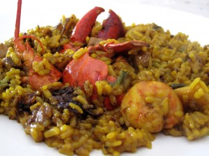 Arroz con Bogavante