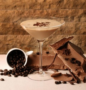 Cocktail Chocolate Martini