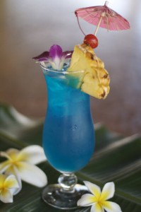 Cocktail: Blue Hawaii