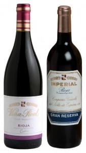 CVNE Imperial Gran Reserva 2001 y Viña Real Gran Reserva 2005