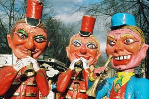 Desfile de 'Les Grosses Tetes'