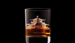 Escultura de hielo para Suntory Whisky