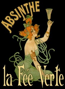 Poster de Le Fe Verte de la Absenta