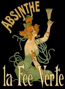 Poster de Le Fée Verte de la Absenta