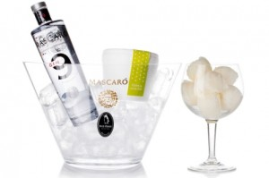 Helado de Gin Tonic: Gin nº 9 & Petit Plaisir