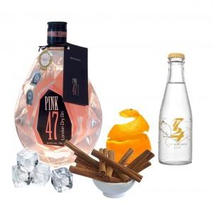 Gin Tonic perfecto de Pink 47 Gin