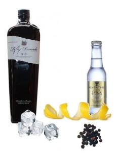 Gin & Tonic perfecto de Fifty Pounds Gin
