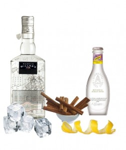 Gin Tonic perfecto de Martin Miller's Westbourne Strenght Gin