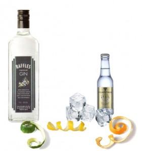 Gin & Tonic perfecto de Raffles Gin