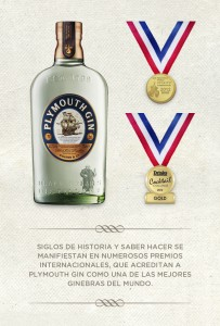 Plymouth Gin,Gold Medal San Francisco World Spirit Competition