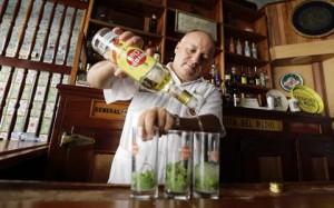 "Havana Club en la ""Bodeguita"""