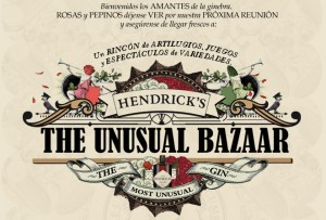 The Unusual Bazaar by Hendrick's Gin