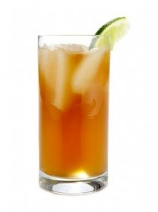 Homemade Sweet Tea Vodka Cocktail