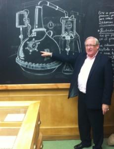 Desmond Payne en la Master Class del Gin College de Beefeater