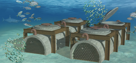 Modulo de envejecimiento bajo el agua