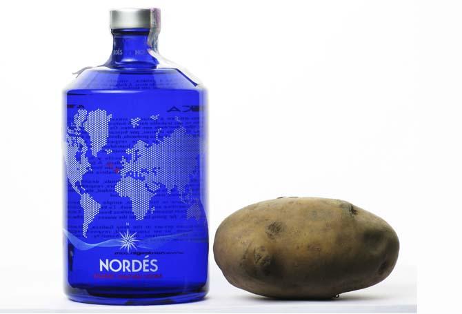 Toca Comer.  Vodka elaborado con patatas. Marisol Collazos Soto, Rafael Barzanallana