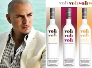 Pitbull & Voli Vodka