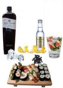 Sushi & Gin Tonic