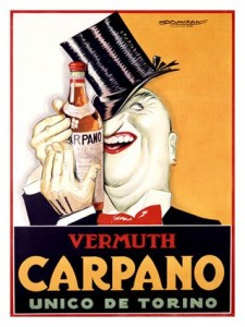 Cartel Vermouth Carpano