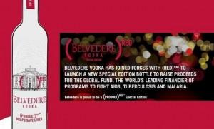 Presentación Vodka Belvedere Red