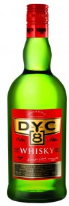 Whisky DYC 8 years