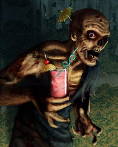 Poster Zombie Cocktail