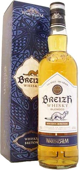 Whisky Armorik Breizh Breton Blended