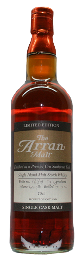 Arran Sauternes Finish Cask Strength Whisky