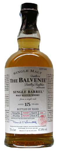 Whisky Balvenie 15 Years Single Barrel